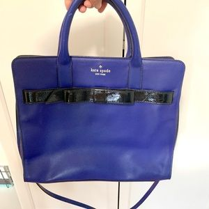 Kate Spade Royal Blue Bag